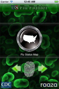 Up-to-the-minute flu information at your fingertips, from activity maps to podcasts.