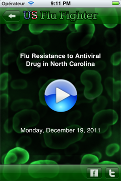 Regular podcasts on flu-related issues.